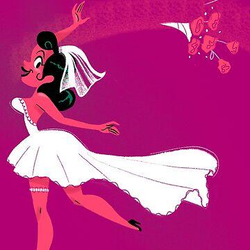 Blushing Bride by jothezette