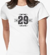 B-day 29 Women's Fitted T-Shirt