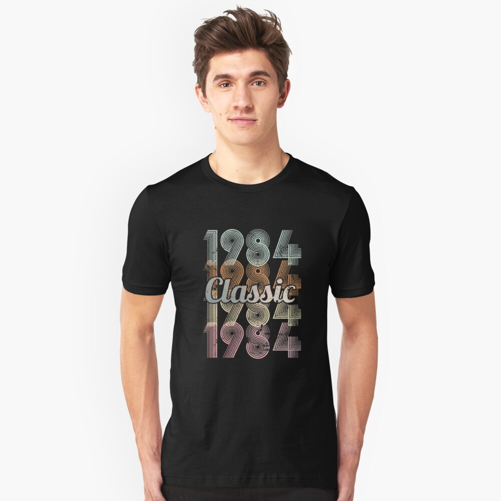1984 Classic 35 years old birthday Unisex T-Shirt Front