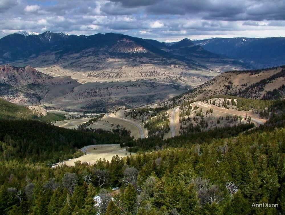 Yellowstone National Park, Wyoming USA by AnnDixon