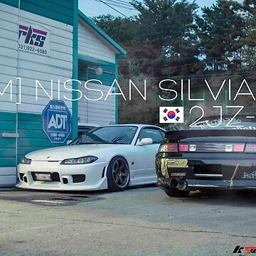 Nissan Silvia S14 JDM japanese drift cars by kyrannnn