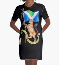 Vegan Coat of Arms by Maria Tiqwah Graphic T-Shirt Dress