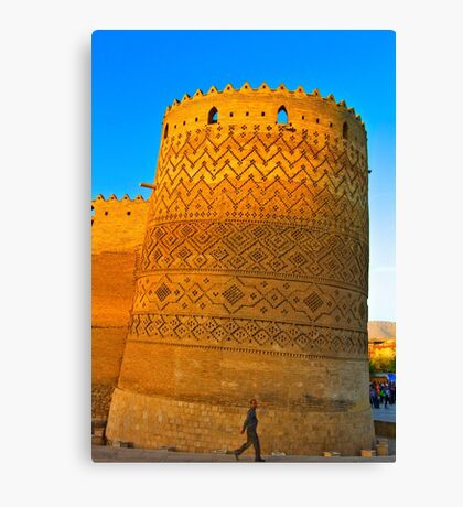 The Leaning Tower of The Arg of Karim Khan - Shiraz - Iran Canvas Print
