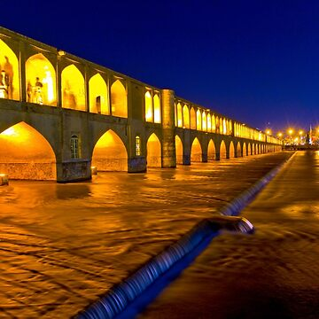 Si-o-Seh Pol - From The Other Side - Esfahan - Iran by BryanFreeman