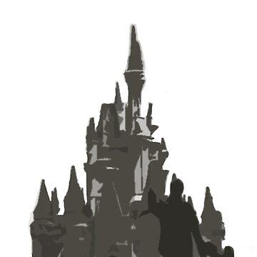 The Castle Silhouette  by Disnerdland