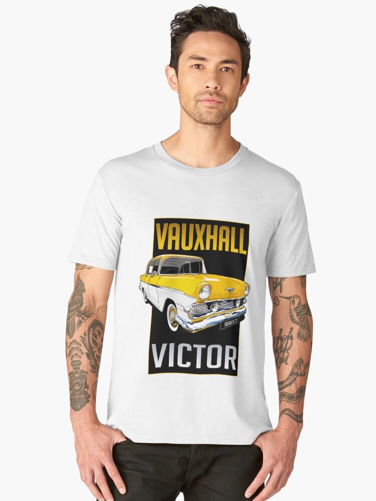 Vauxhall Victor Series 1 Men's Premium T-Shirt Front