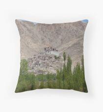 Shey Palace, Ladakh Throw Pillow