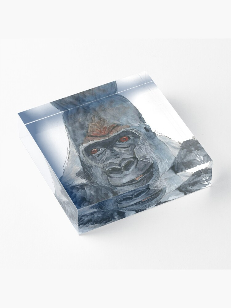Alternate view of Gorilla Acrylic Block