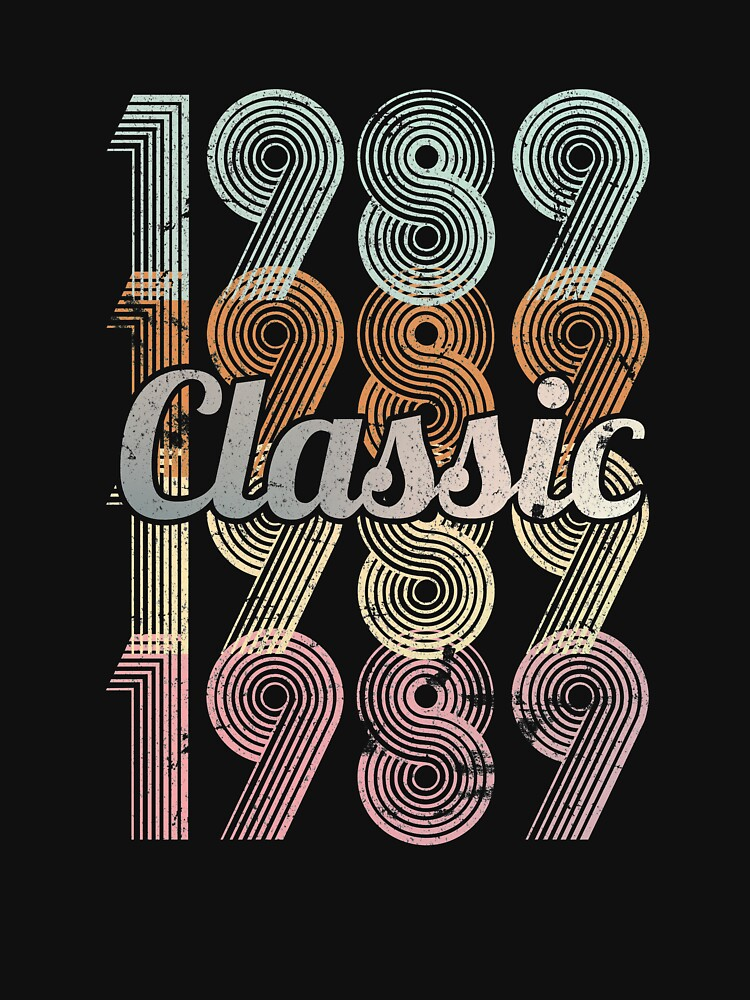 1989 Classic 30 years old birthday by hsco