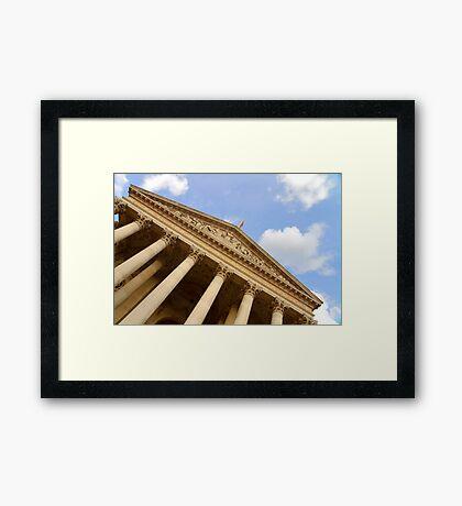 The Royal Exchange - London Framed Print