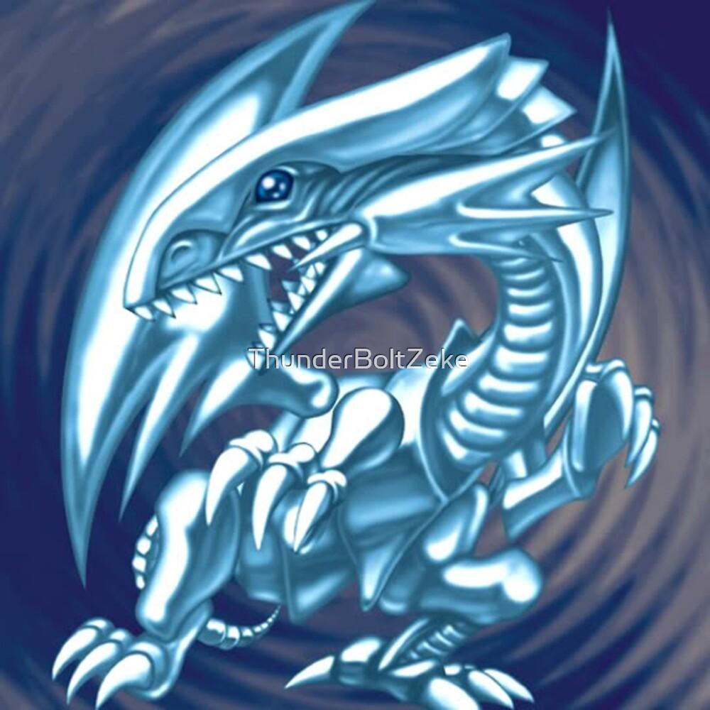 Blue Eyes White Dragon by ThunderBoltZeke