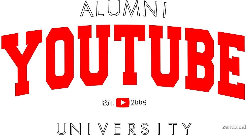YOUTUBER Fan Alumni T-Shirt by zenobias1
