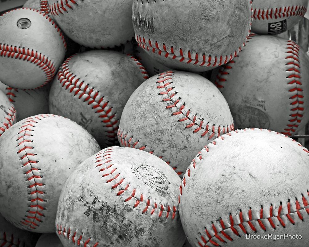 Vintage Baseballs by BrookeRyanPhoto