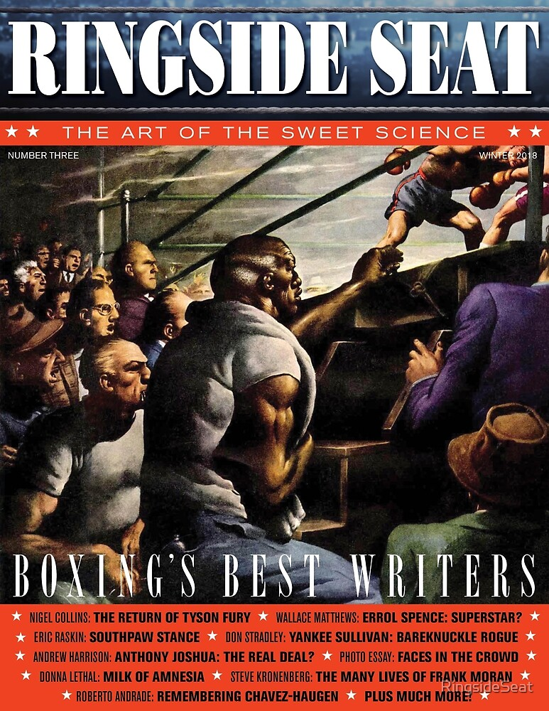 RINGSIDE SEAT #3 COVER by RingsideSeat