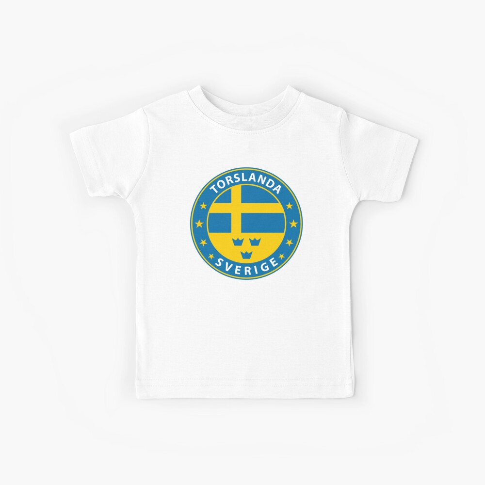 Torslanda, Torslanda Schweden, Torslanda Sverige, Torslanda Aufkleber, Stadt von Schweden Kinder T-Shirt