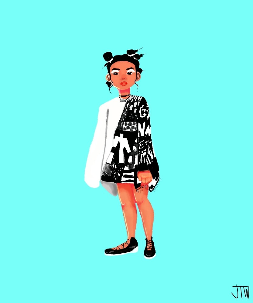Pattern Girl  by juliawidmaier