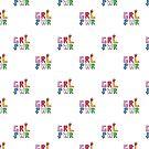 «Patrón GRL PWR» de EuGeniaArt