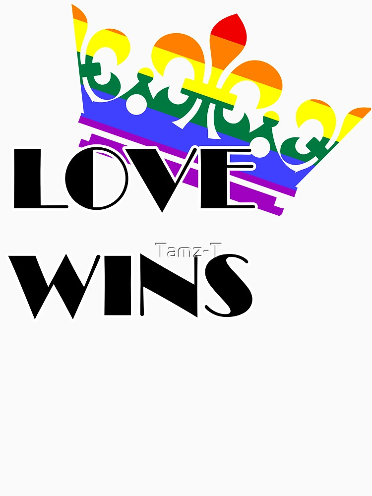 Pride Love Wins Crown by Tamz-T