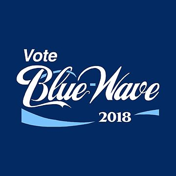 Vote Blue Wave 2018 by BootsBoots