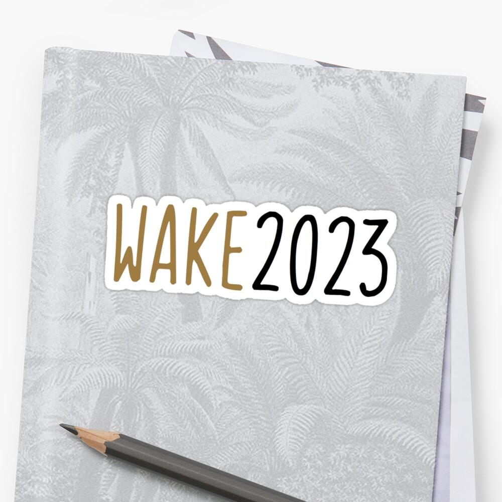 wake 2023 by clairekeanna