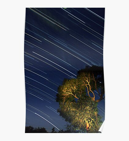Star Trails from Home Poster