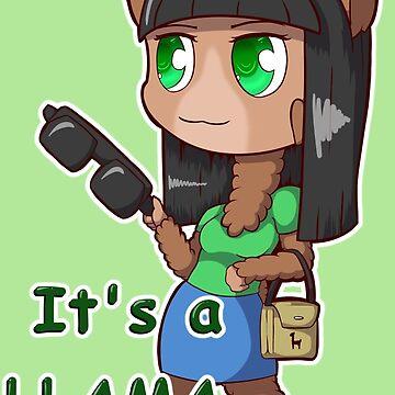 It's a Llama Thing! by EdgarKingmaker