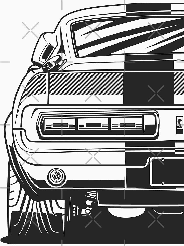 Mustang Shelby GT500 by OlegMarkaryan