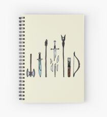 The Lord of the Rings Spiral Notebook