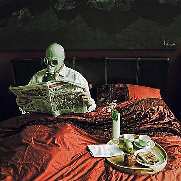Playboy gimp at rest by Julian-Holtom