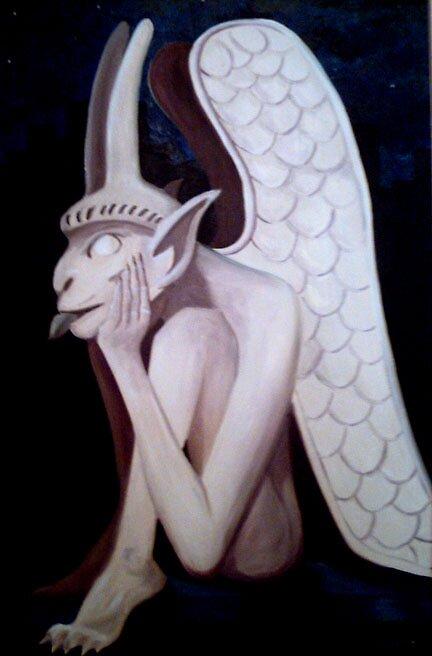 Gargoyle by jamesmcnulty