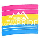 Pansexual West Lothian Logo by WLPride