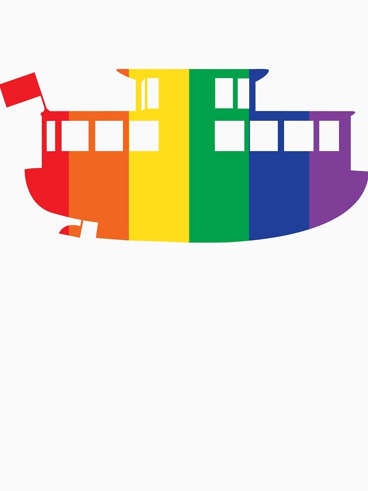 Rainbow Logo by aquabus