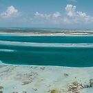 «Panorámica Sebastopol  Los Roques Venezuela» de Org Bluewater