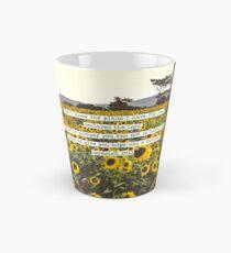Jeremiah Sunflowers Tall Mug