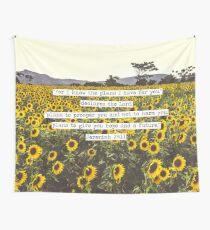 Jeremiah Sunflowers Tapestry