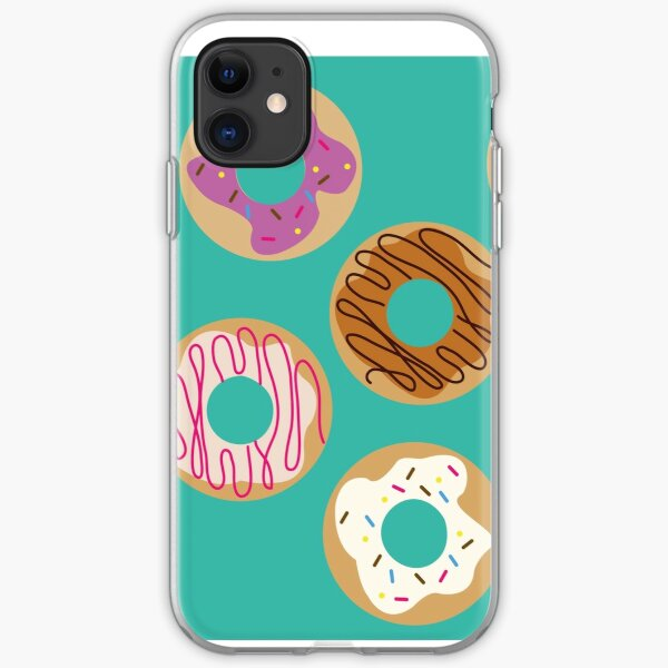 Delicious donuts iPhone Soft Case