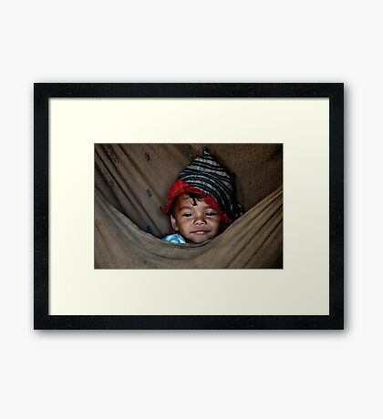 Snug as a Bug in a Rug Framed Print
