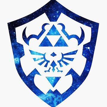 Hyrule Shield (Galaxy) by NibblesGameOver
