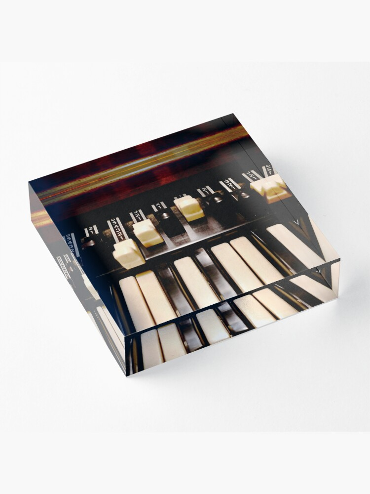 Alternate view of Hammond B3 Organ Acrylic Block