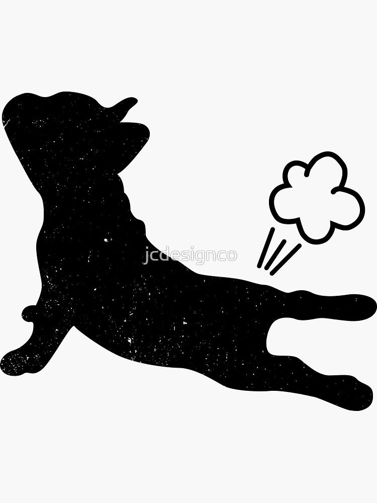 Frenchie macht Yoga von jcdesignco
