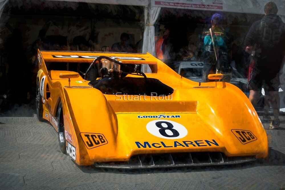McLaren M8F by Stuart Row