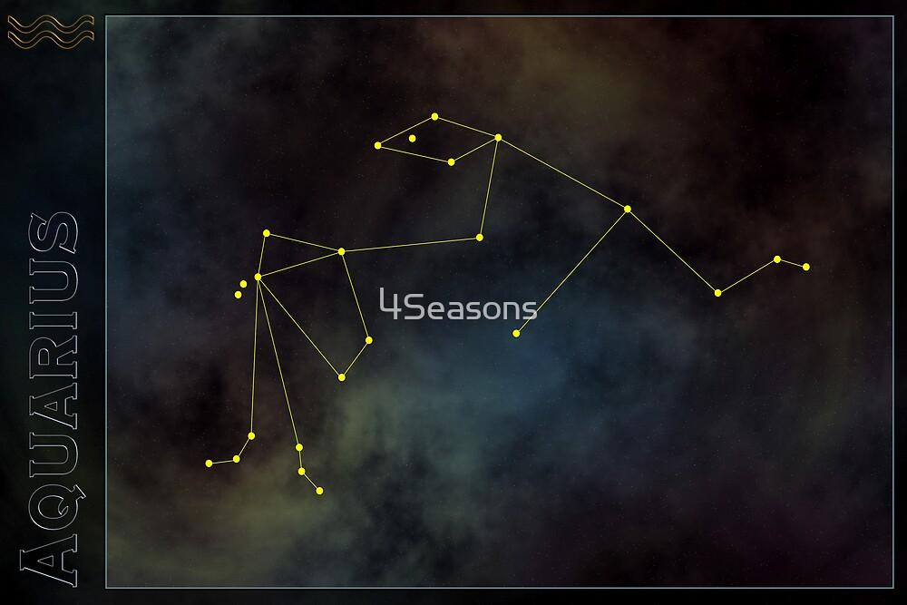Aquarius zodiac by 4Seasons