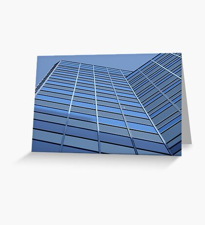 Upward Lines Greeting Card