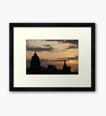 Colors Of The Morning Framed Print