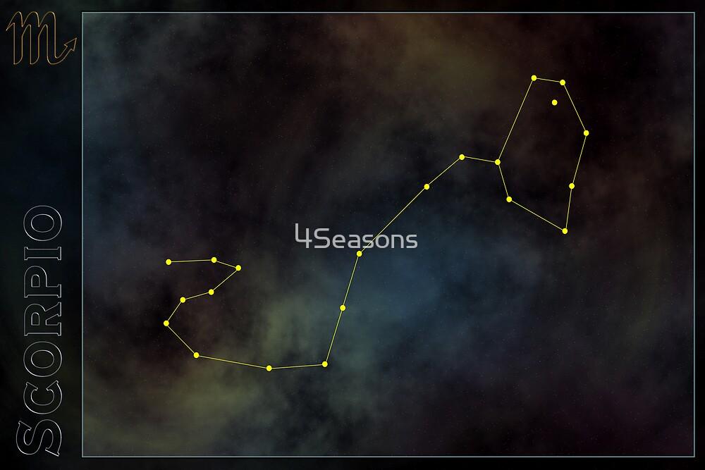 Scorpio zodiac by 4Seasons