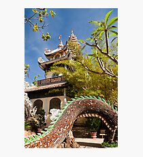 The Pagoda and the Snake Photographic Print