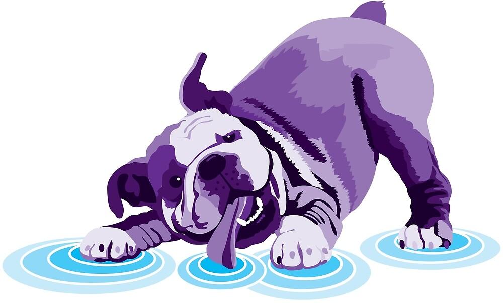 Bulldog Purple by sarahwhensley