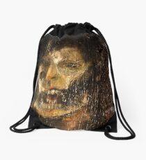 portrait of the king Drawstring Bag