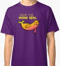 Rette das Mönchsrobbe Classic T-Shirt