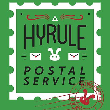 Hyrule Postal Service by amandaflagg